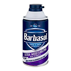 Barbasol Thick & Rich Shaving Cream Extra Moisturizing with Vitamin E, 10. 0 OZ