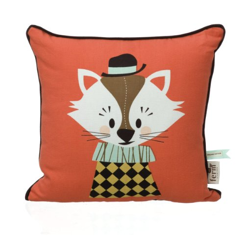Ferm Living Kinderkissen Kissen 30 x 30 cm Aristo Katt Cushion Katze
