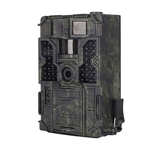 J.KM Jagdkamera, 16 Millionen HD-Pixel-Infrarot-Nachtsichtinduktions-wasserdichte Wildlife Scouting-Kamera, 1080P HD-Video