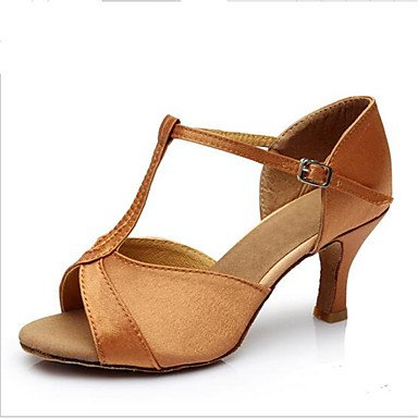 Moda Donna Sandali Sexy donna tacchi Primavera / Autunno punta aperta in cuoio / outdoor casual Stiletto Heel Lace-up marrone / Rosso / Argento Altri Red