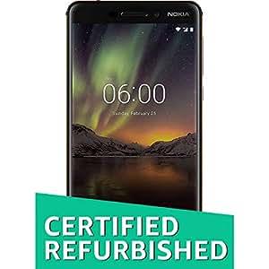 (Certified REFURBISHED) Nokia 6.1 (Matte Black)