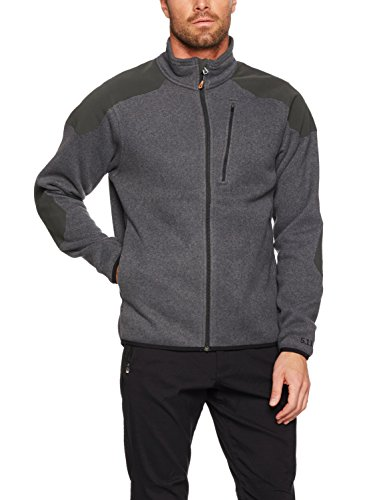 5.11 Tactical Full Zip Pullover Gun Powder Größe M (Brust-tasche Sweatshirt Full Zip)