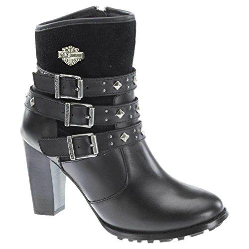 Harley Davidson Women Abbey black, Größen:40 (Davidson Harley Damen Stiefel)