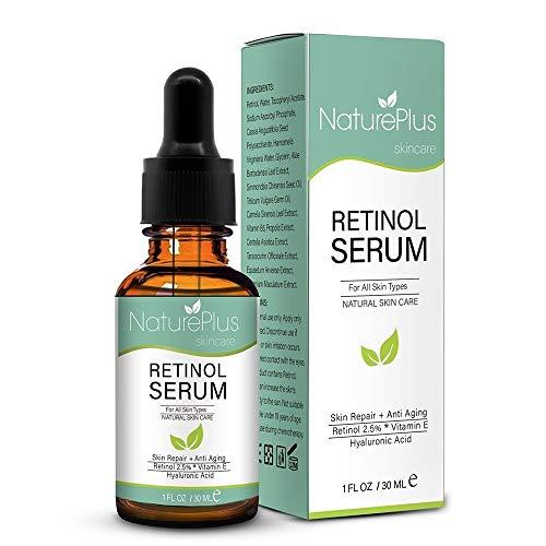 Suero Retinol 2,5% ácido hialurónico cara noche