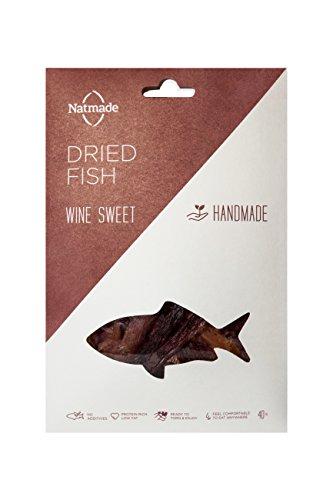Vin doux Gourmet Poisson Séché par Natmade (Pack de 4 x 40g)
