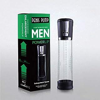 xy-msgin USB Charging Electric Vacuum Pump for Men, Enhancer Enlargement Pump Enlarger Exercise Kit Enhancement Toy with Tick Mark Vaccum Enhancer Penǐsextender,Black