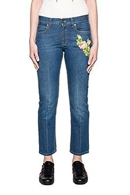 Gucci Women's 449577xr5034205 Blue Cotton Jeans