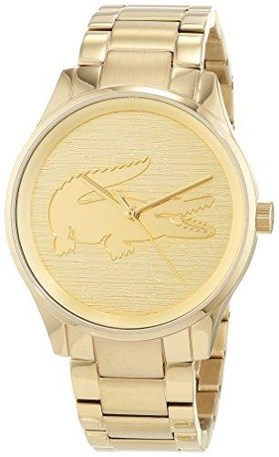 Lacoste Unisex Analog Quarz Uhr mit Edelstahl Armband 2001016