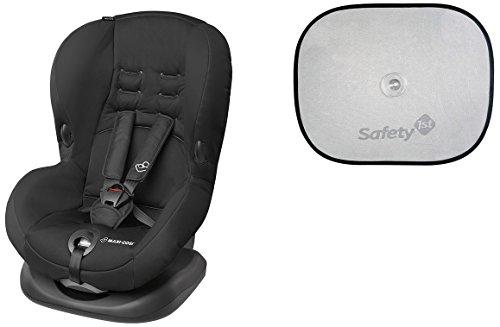 Maxi-Cosi Priori SPS Plus Kindersitz Gruppe 1 (9-18 kg) inklusive Safety 1st Sonnenblende, schwarz