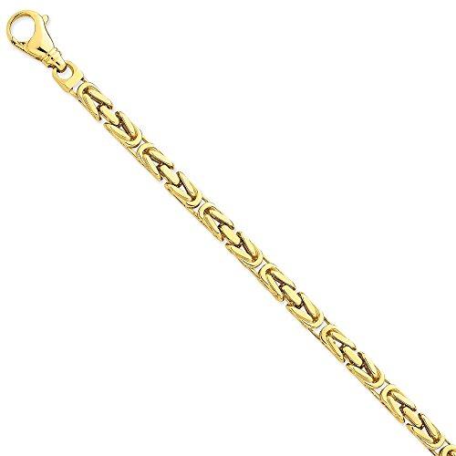 Byzantinische Armband Schmuck Gelb 6,00 mm