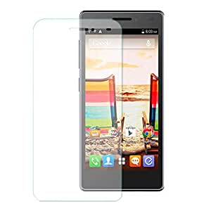 Generic curve Tempered Glass for micromax q332 (Buy 1 Get 1 Free)