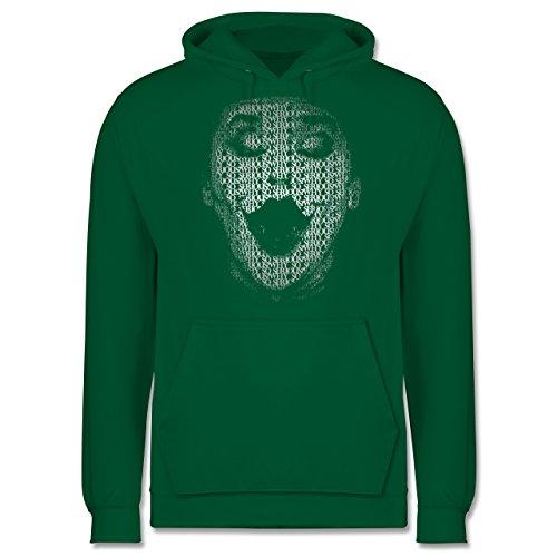 Comic Shirts - Jack Napier - Männer Premium Kapuzenpullover / Hoodie Grün