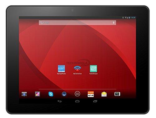 Techniviola ViolaPad 10G 24,6 cm (9,7 Zoll) Tablet-PC (Rockchip RK3188, 1,8GHz, 2GB RAM, 16GB SSD,Quad-Core 533MHz, Android) silber (Modem 16x4)