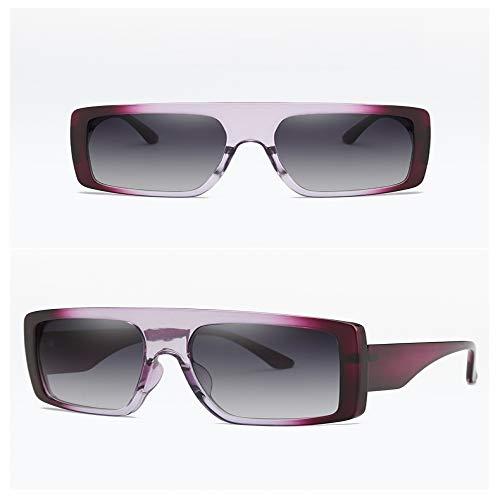 JYTDSA Übergroße quadratische Sonnenbrille-Frauen-Stück-große Rahmen-Sonnenbrille-Mann-Brillen
