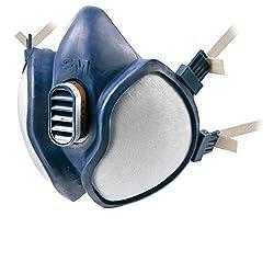 3M Wartungsfreies Halbmasken-Beatmungsgerät, FFA1P2R D-Filters, 4251, EN-Sicherheit zertifiziert