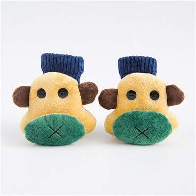 QYYDETWZ Niedlichen Cartoon-Muster Kinder Socken Baumwolle Knit Beinlinge Für Jungen & Mädchen Kleidung Zubehör 4-6 T AFFE