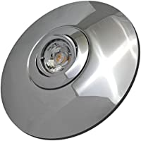 Einbauleuchten 3 Stück MCOB LED Einbaustrahler Nele 12 Volt 5 Watt Schwenkbar Silber/Warmweiß