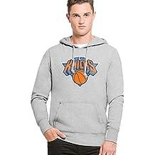 47 Brand NBA NEW YORK KNICKS Knockaround Headline Hoodie Sweatshirt, Größe:XL ·