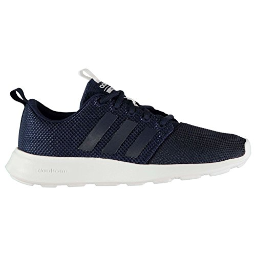 adidas Cloudfoam Swift Racer Trainers Mens Navy/White Athletic ...