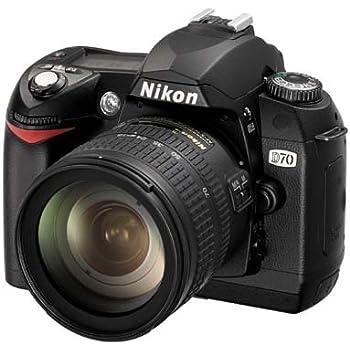 Nikon D70 Digital Foto Body 6.1MP CCD Negro: Amazon.es: Electrónica