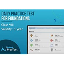 Aakash PracTest - Daily Practice Tests for Class 8 (Email Delivery in 2 hours- No CD)