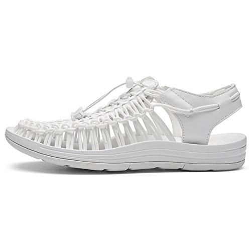 Zapatos De Agua Sandalias Tejidas A Mano Zapatos De Playa para Mujer De Hombre Ligero Secado Rápido...