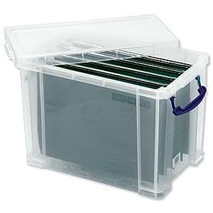 generic bo te de classement en plastique avec 10 dossiers suspendus a4 cuisine maison. Black Bedroom Furniture Sets. Home Design Ideas