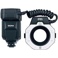 Sigma EM-140 DG Macro - Flash macro para cámaras SLR, negro