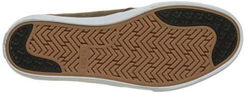 Globe Chase, Scarpe da Skateboard Uomo Multicolore (Brown/white)