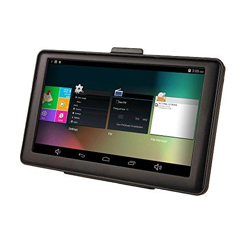 7 Zoll SAT NAV Quad-Core-Auto-LKW-Navigation 8 GB mit EU Neuesten Karten und Lifetime Updates (7 Zoll (Standard))