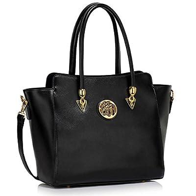 LEESUN LONDON Designer Shoulder Bag Large Handbags For Women Fashion Bags Ladies Tote Bags