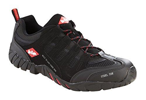 Lee Cooper lcshoe008C-12Größe 12/46Workwear Schuhe-Schwarz