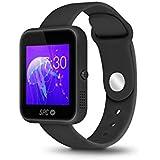 """SPC Smartee Slim - Smartwatch de 1.54"""" (IPS, Linux, Bluetooth 4.0 BLE), negro"""
