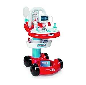 Smoby - 024422 - Jeu D'Imitation - Docteur - Chariot Médical