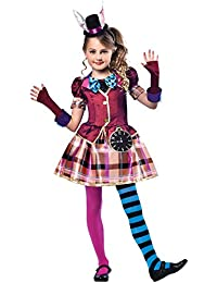 Déguisement Fille Chapelier Fou Alice Aux Pays Des Merveilles Carnaval