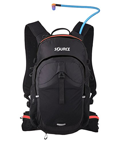Source Trinkrucksack Black/Red