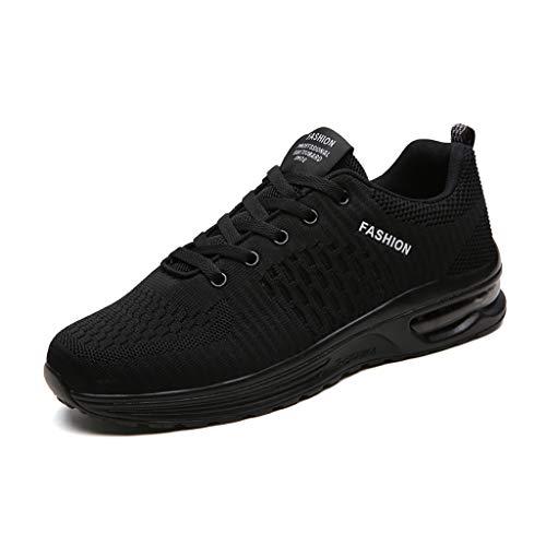 LXJL Scarpe da Ginnastica da Uomo con ammortizzatori da Corsa Traspirante Outdoor Fitness Esercizio Jogging Sneakers Sportive,c,39
