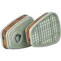 3M Aktivkohlefilter 6055/A2 zu Atemschutzmasken Serie 6000, 1 Stück, 906055