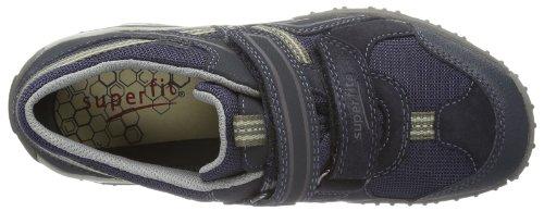 Superfit Sport4, Sneaker bambini Nero Schwarz (schwarz kombi 02) 25 Blu (Blau (ocean kombi 81))
