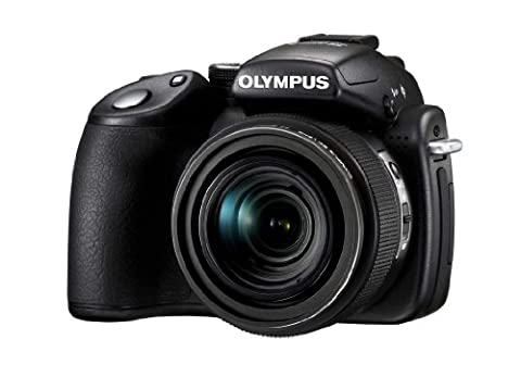 Olympus SP-570UZ Compact Digital Camera - Black ( 10.1 MP,