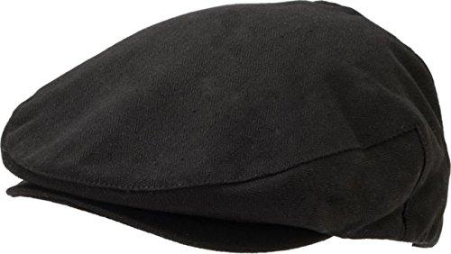 BRIXTON Hooligan Cap Black Herringbone XL