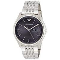 Emporio Armani Men's Quartz Watch, Analog Display and Stainless Steel Strap AR1977