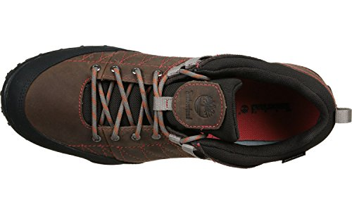 Timberland Greeley Approach Low, Multisport Outdoor femme marron rouge