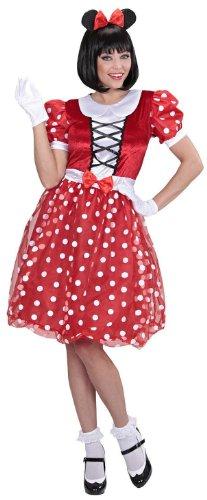 chsenenkostüm Mäuschen, Kleid und Ohren (Mickey Maus Kostüm Kostüm Erwachsene)