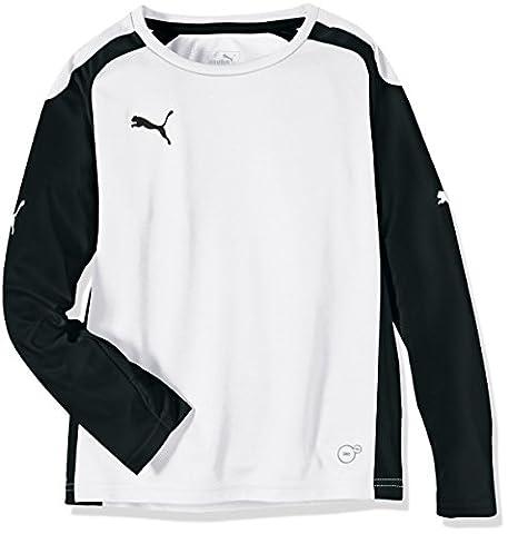 Puma Speed T-shirt à manches longues pour enfant 16 ans Blanc - white-black