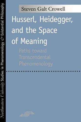 Husserl, Heidegger, and the Space of Meaning: Paths Toward Trancendental Phenomenology: Paths Toward Transcendental Phenomenology (Studies in Phenomenology and Existential Philosophy)