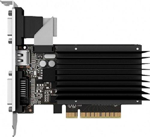 Palit NVIDIA GT730 GeForce Grafikkarte(PCI-e, 2GB GDDR3 Speicher, VGA, DVI, HDMI 1 GPU, 64bit)