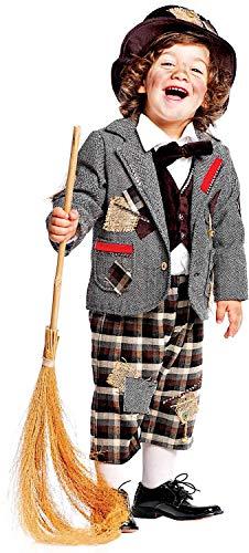 ea8120eabbb4 Carnevale venizano cav50561 - 3 - Costume spazza Camino Neonato - età: 0 - 3