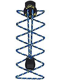 Nathan Lock Laces Trail Electric Blue