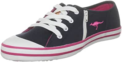 Kangaroos Women's Maryport Lace Navy Blue Lace Up Trainer C-10350 3 UK